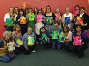 Stamping In Your Journal - Class photo