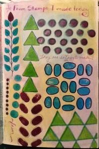 1-4-14 Foam Stamps